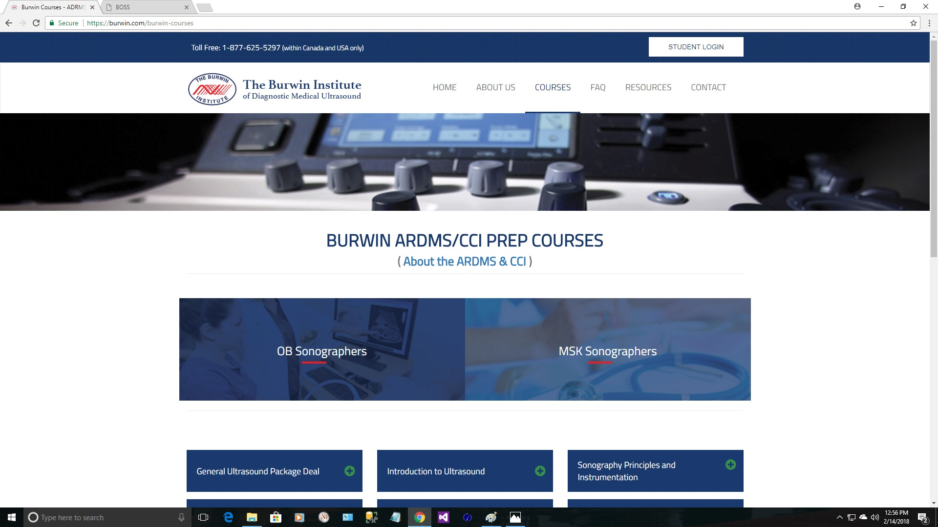 BOSS - Burwin Online Student System